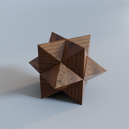 Thumbnail: Wooden Star Puzzle