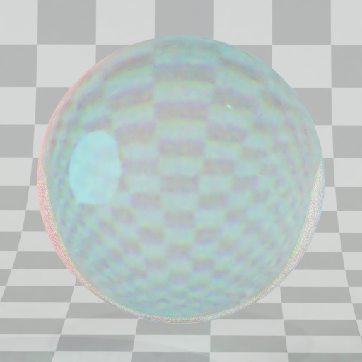 Thumbnail: PBR Glass with refrectiion