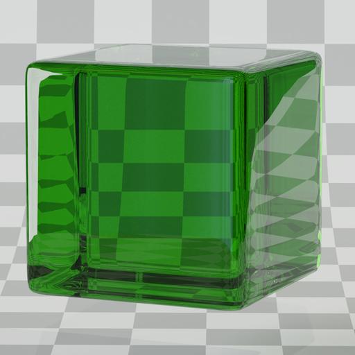 Thumbnail: Glass green