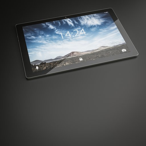 Thumbnail: Tablet PC Media Device