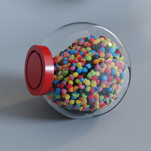Thumbnail: Jar of sweets