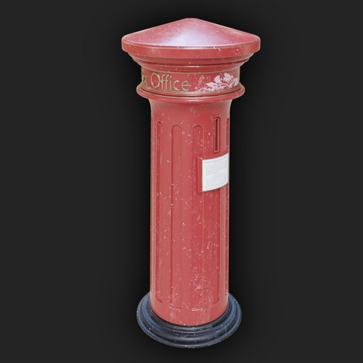 Thumbnail: Vintage Victorian Post Box