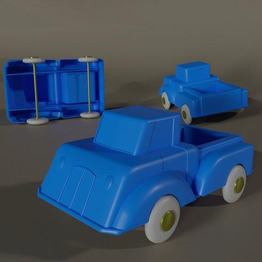 Thumbnail: Cheap plastic toy truck