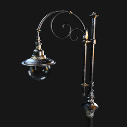 Thumbnail: Vintage Victorian Street Lamp 004