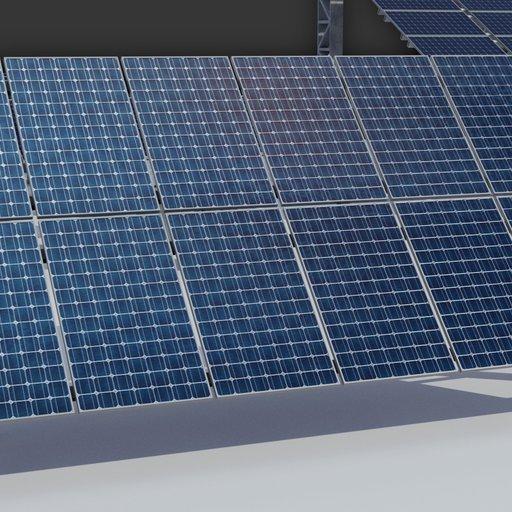Thumbnail: 3.6kw Solar Panels Structure