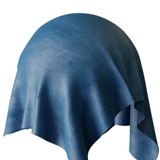 Thumbnail: Blue Suede Leather