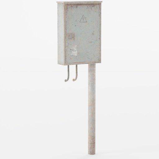 Thumbnail: Building decor Electric box 2