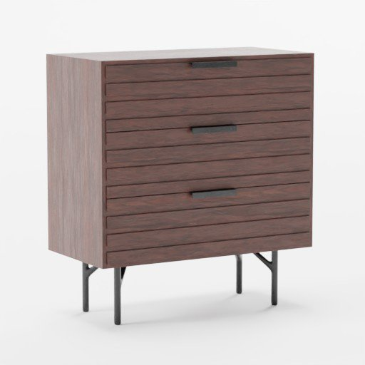 Thumbnail: Wooden Dresser dark