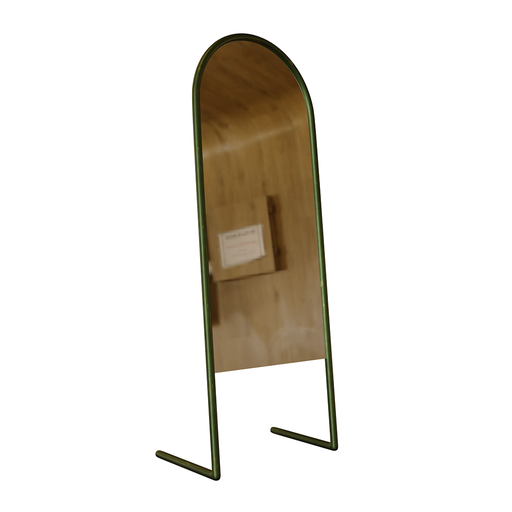 Thumbnail: Thin Rustic Floor Mirror