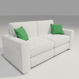 Thumbnail: Sofa 01 Two seater