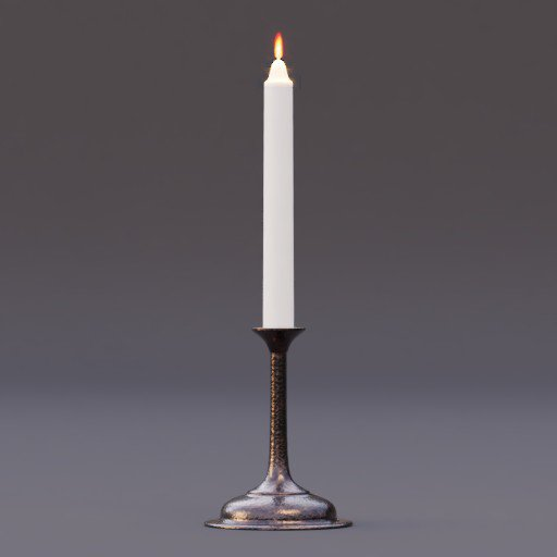 Thumbnail: candlestick burning