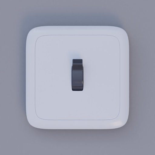 Thumbnail: light switch small black