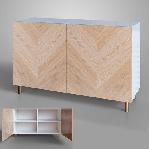 IKEA BESTA sideboard hedeviken