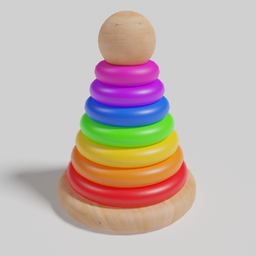 Thumbnail: Stacking Tower Toy