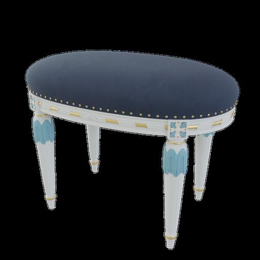 Thumbnail: Ornate stool