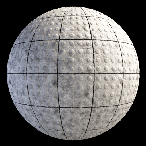 Thumbnail: Tactile Blocks Tiles Concrete Dots