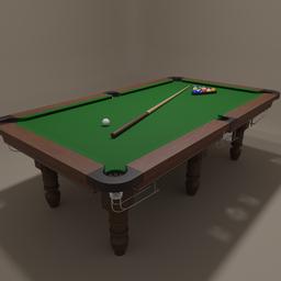 Thumbnail: Pool table