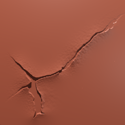 Thumbnail: tear hole rusty metal