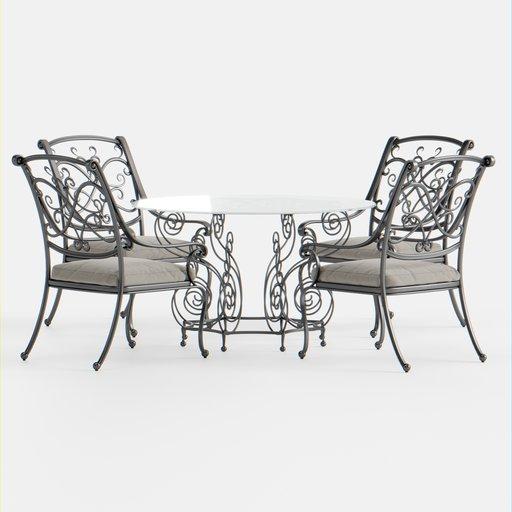 Thumbnail: Outdoor Seating Set