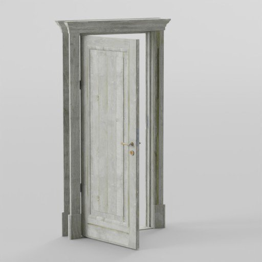 Thumbnail: Pine wooden Door
