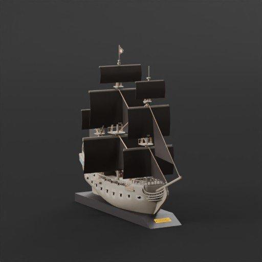 Thumbnail: Sailingship(model)
