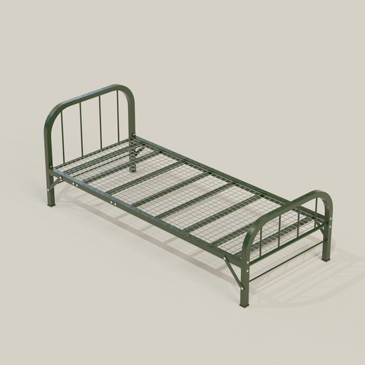 Thumbnail: Prison Single Bed