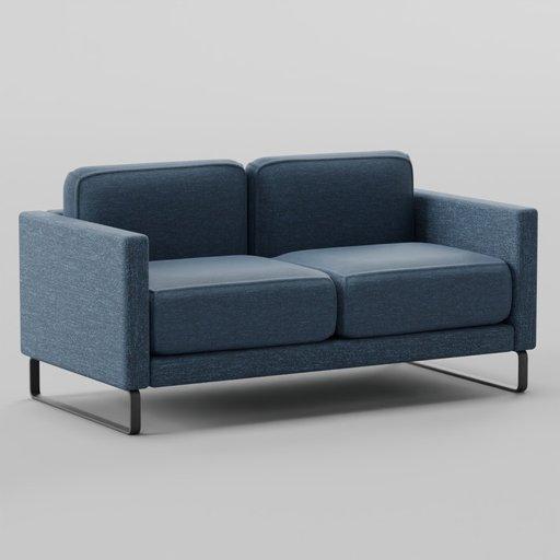 Thumbnail: Goodland Two-Seater Sofa 168x85x84