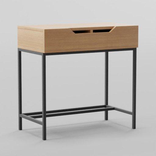 Thumbnail: Industrial Storage Mini Desk 76x40x76