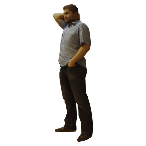 Realistic Guy Standing