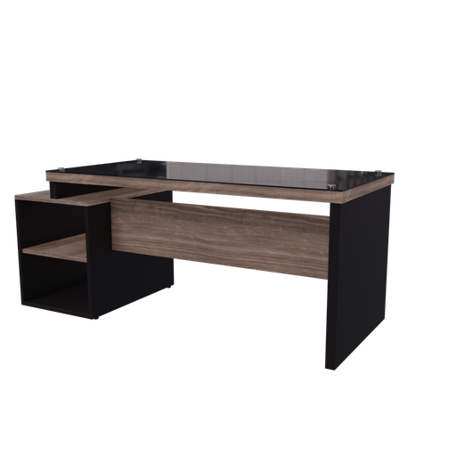 Wooden table office-02