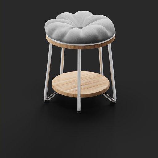 Thumbnail: Cushion Round Chair