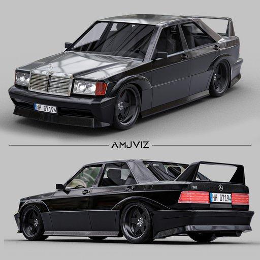 Thumbnail: MercedesBenz 1990 190E