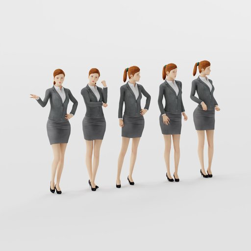 Thumbnail: Woman Formal Stand Pose 1