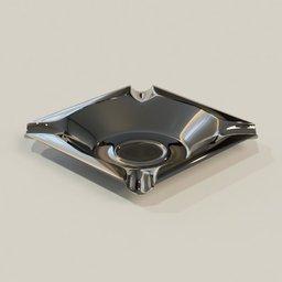 Thumbnail: Stainless steel Ashtray