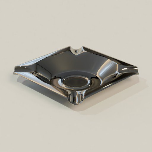 Thumbnail: Stainless steel Ashtray