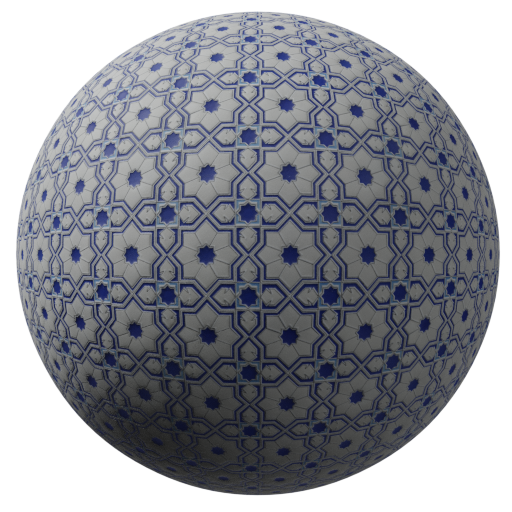 Thumbnail: Tiles star design