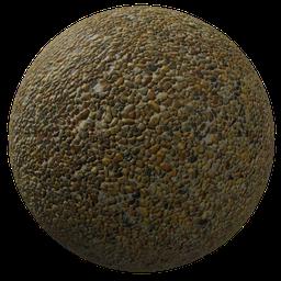 Thumbnail: Yellow gravel