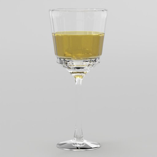 Cristal Wine Clear Glass