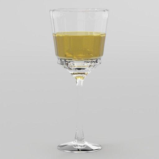 Thumbnail: Cristal Wine Clear Glass