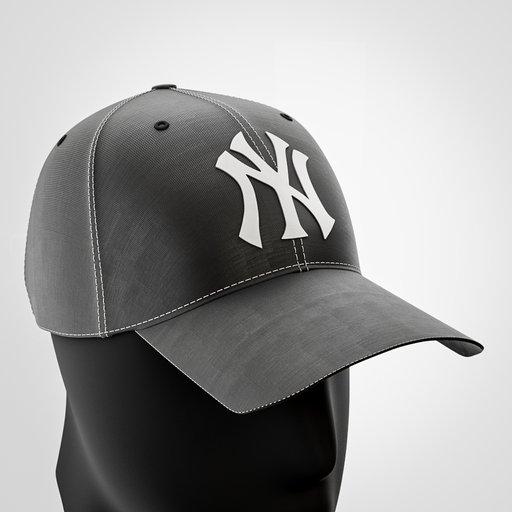 Thumbnail: New York Yankees Cap Black