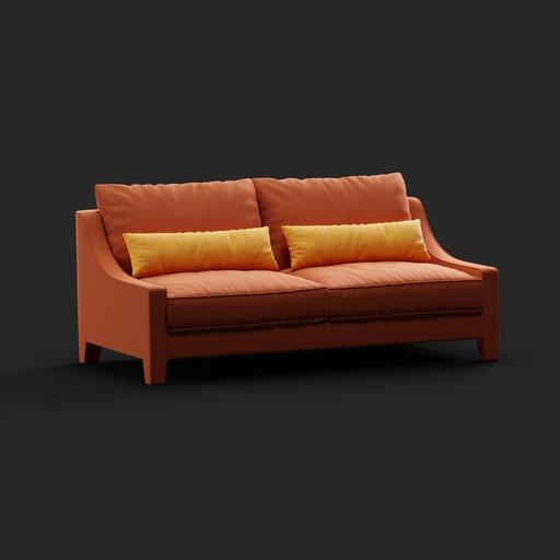 Thumbnail: Opera sofa 2seat