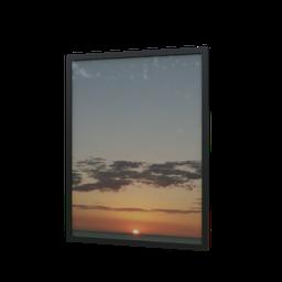 Thumbnail: Frame sunset January