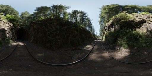 Moulton Station Train Tunnel West