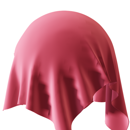 Procedral Red Silk
