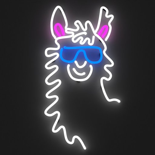 Alpaca LLama Neon Light Sign