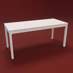 Thumbnail: IKEA EKEDALEN table 180 white