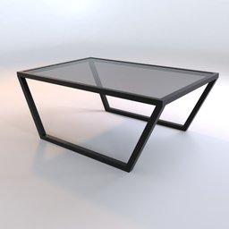 Thumbnail: Modern Glass Table JP