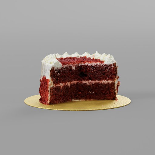 Thumbnail: Red velvet cake Half