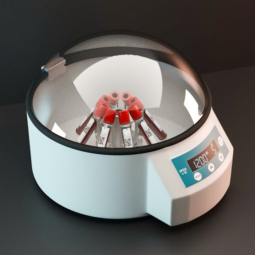 Thumbnail: Table centrifuge with blood samples