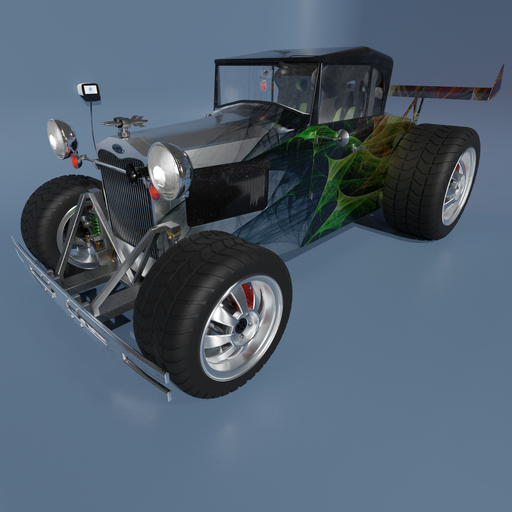 Thumbnail: Ford Model A 1929 - electric dragster.